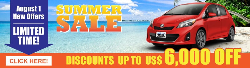 Summer Sale 2018, over 200 units, discounts up to USD 3000