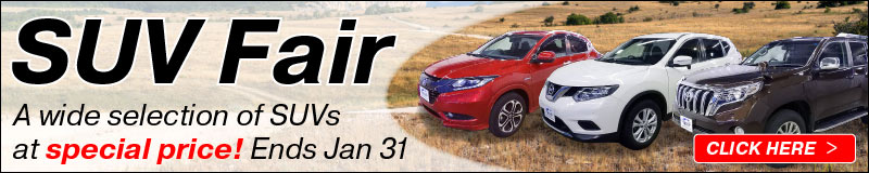 SUVs Fair! A wide selection of SUVs with Special discount