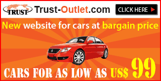 Trust oulet open, new website for cars at bargain price