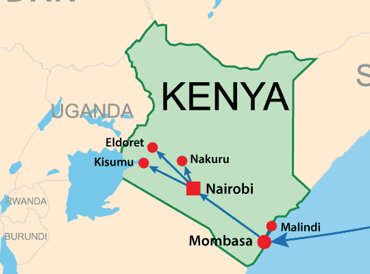 Vehicle delivery from Japan to Kenya