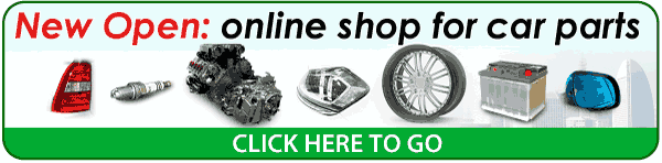 Online shop for car parts. Over 300,000 spare parts available, used and brand new.