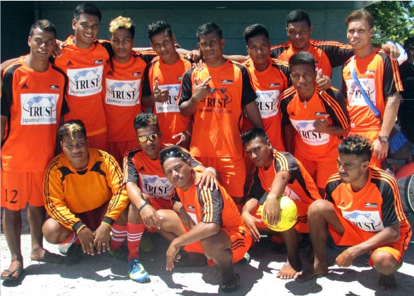 Trust Company sponsoring Eita United footbal team from Kiribati