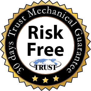 Trust Mechanical Breakdown Guarantee Logo