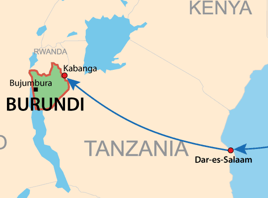 Vehicle delivery from Japan to Burundi
