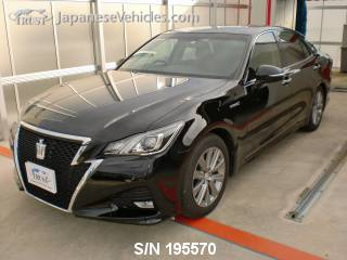 TOYOTA CROWN HYBRID 2016 S/N 195570