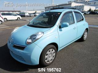 NISSAN MARCH (MICRA) 2009 S/N 195762