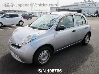 NISSAN MARCH (MICRA) 2010 S/N 195766