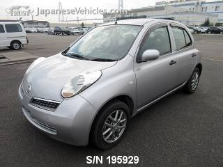 NISSAN MARCH (MICRA) 2009 S/N 195929