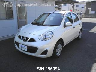 NISSAN MARCH (MICRA) 2015 S/N 196394