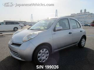 NISSAN MARCH (MICRA) 2009 S/N 199026
