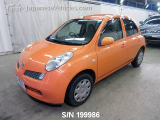 NISSAN MARCH (MICRA) 2007 S/N 199986