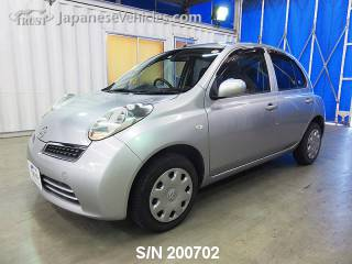 NISSAN MARCH (MICRA) 2010 S/N 200702