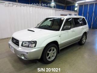 SUBARU FORESTER 2004 S/N 201021
