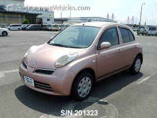 NISSAN MARCH (MICRA) 2008 S/N 201323