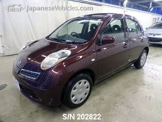 NISSAN MARCH (MICRA) 2008 S/N 202822
