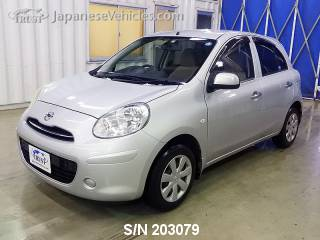 NISSAN MARCH (MICRA) 2012 S/N 203079