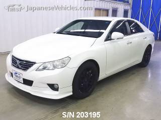 TOYOTA MARK X 2010 S/N 203195