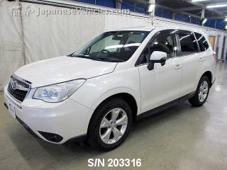 SUBARU FORESTER 2012 S/N 203316