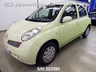 NISSAN MARCH (MICRA) 2003 S/N 203390