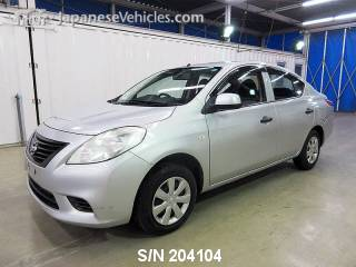 NISSAN LATIO 2014 S/N 204104