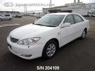 TOYOTA CAMRY 2001 S/N 204109