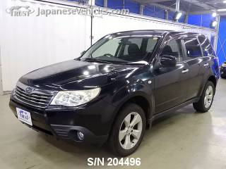 SUBARU FORESTER 2008 S/N 204496