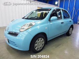 NISSAN MARCH (MICRA) 2009 S/N 204824