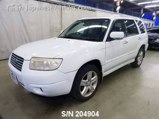 SUBARU FORESTER 2007 S/N 204904