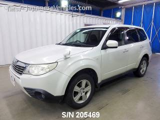 SUBARU FORESTER 2009 S/N 205469