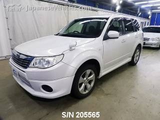 SUBARU FORESTER 2008 S/N 205565
