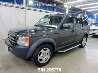 LANDROVER DISCOVERY 2006 S/N 205778