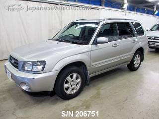 SUBARU FORESTER 2004 S/N 206751