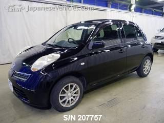 NISSAN MARCH (MICRA) 2010 S/N 207757