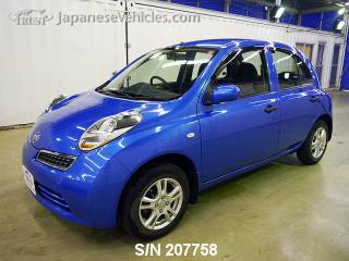 NISSAN MARCH (MICRA) 2009 S/N 207758