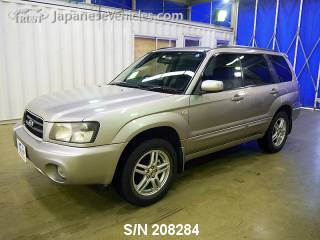 SUBARU FORESTER 2004 S/N 208284