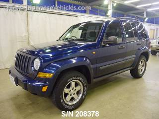 CHRYSLER JEEP CHEROKEE 2006 S/N 208378