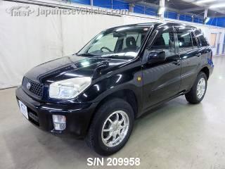 TOYOTA RAV4 2003 S/N 209958