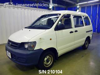 TOYOTA TOWNACE 2004 S/N 210104