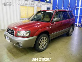 SUBARU FORESTER 2004 S/N 210207