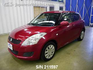 SUZUKI SWIFT 2011 S/N 211597