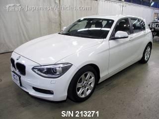 BMW 1 SERIES 2011 S/N 213271