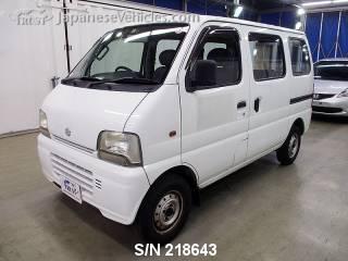 SUZUKI EVERY 2004 S/N 218643