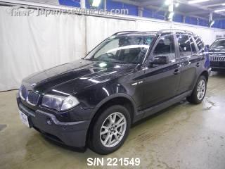 BMW X3 2005 S/N 221549